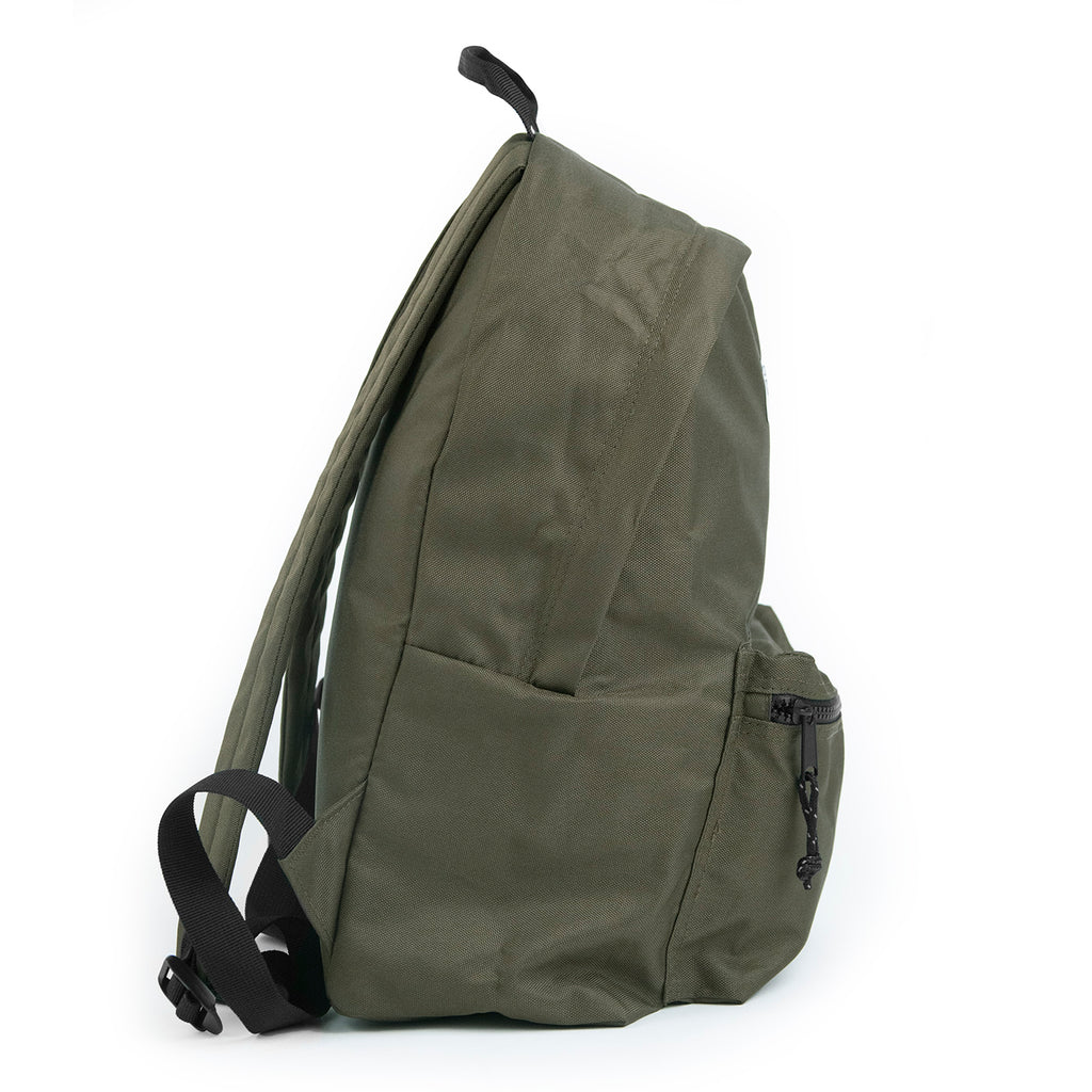 Bored of Southsea Daily Use Backpack in Military Green - Side