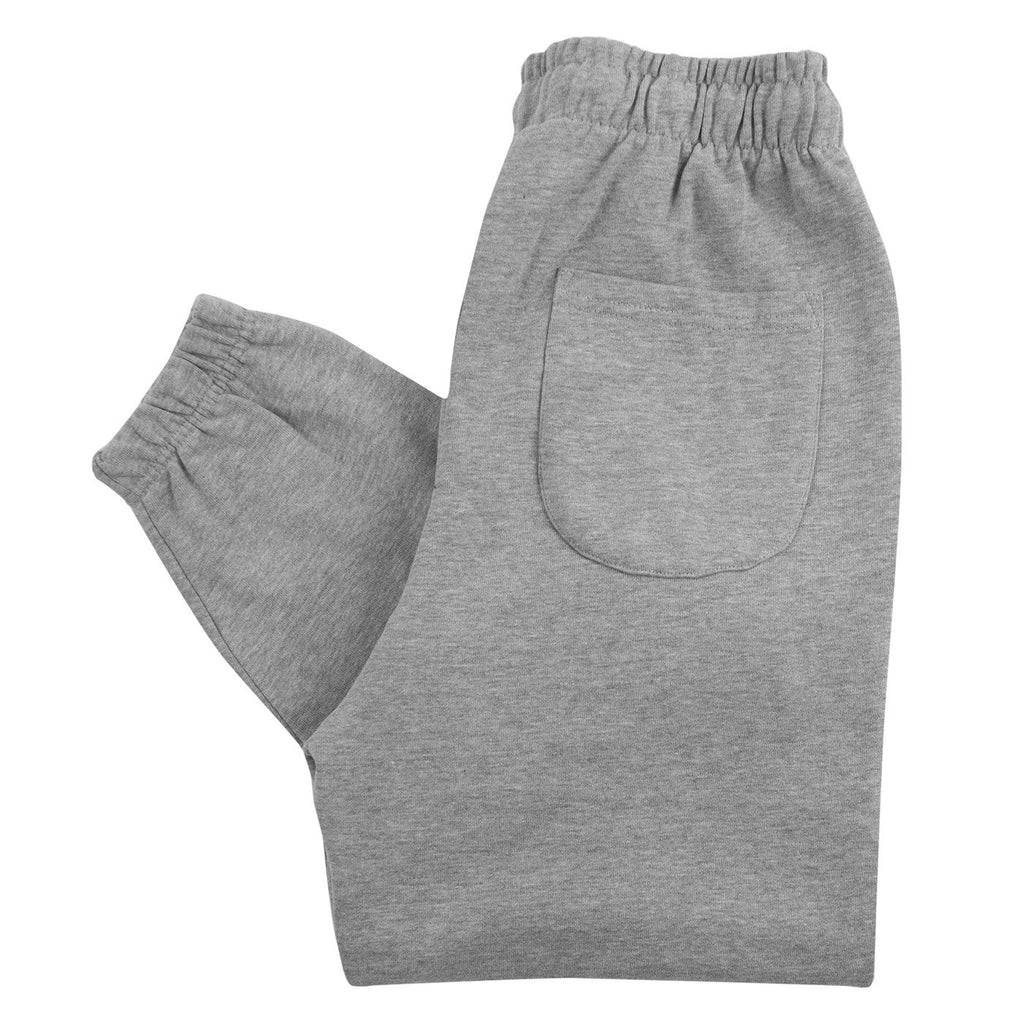 Bored of Southsea Daily Use Jogger Pant in Heather Grey - Folded