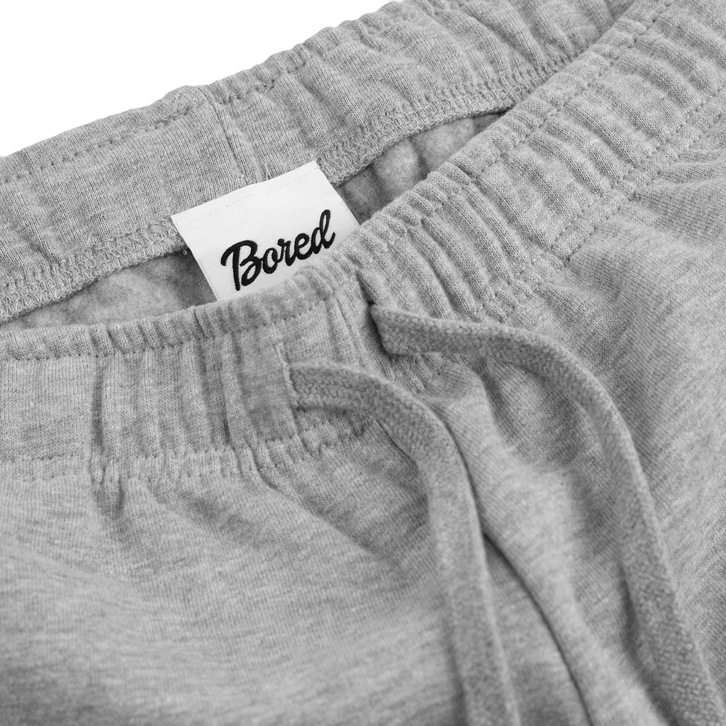 Bored of Southsea Daily Use Shorts Heather Grey - Waistband