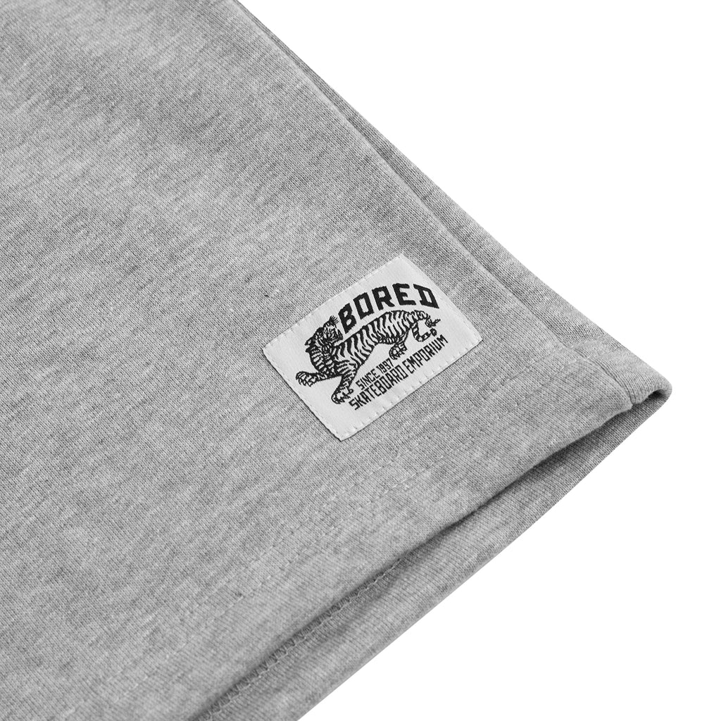 Bored of Southsea Daily Use Shorts Heather Grey - Branding