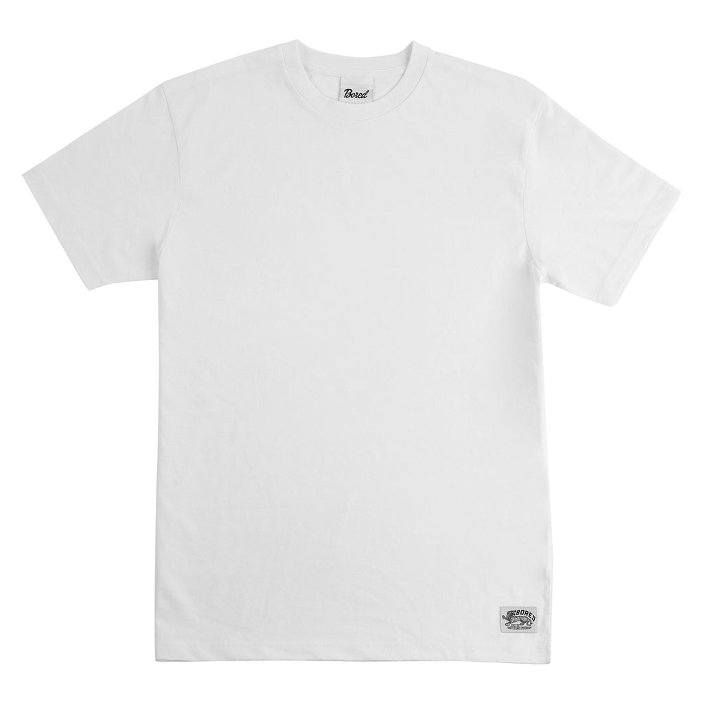 Bored of Southsea Daily Use T Shirt  White - Front