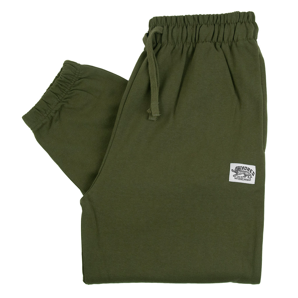 Bored of Southsea Daily Use Jogger Pant Olive - Front