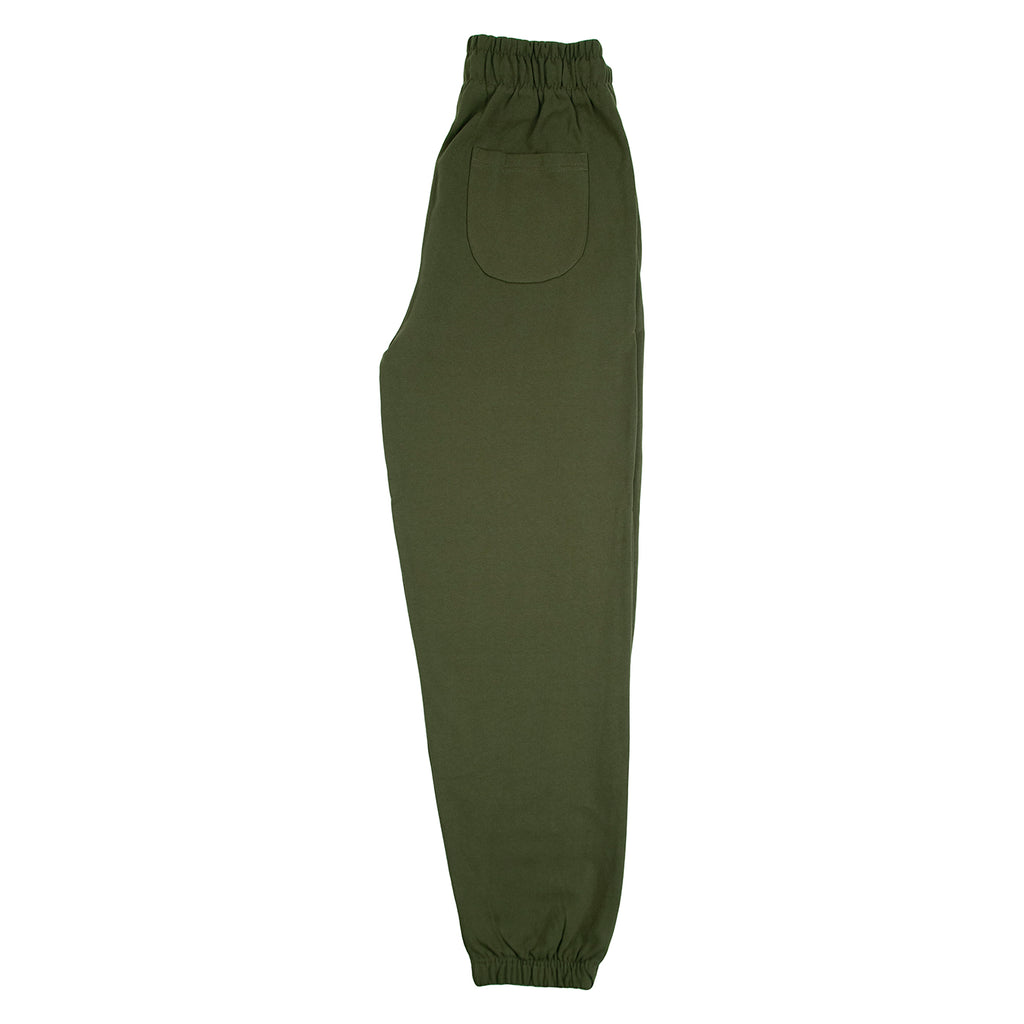 Bored of Southsea Daily Use Jogger Pant Olive - Leg