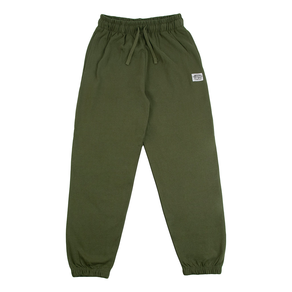 Bored of Southsea Daily Use Jogger Pant Olive - Front open