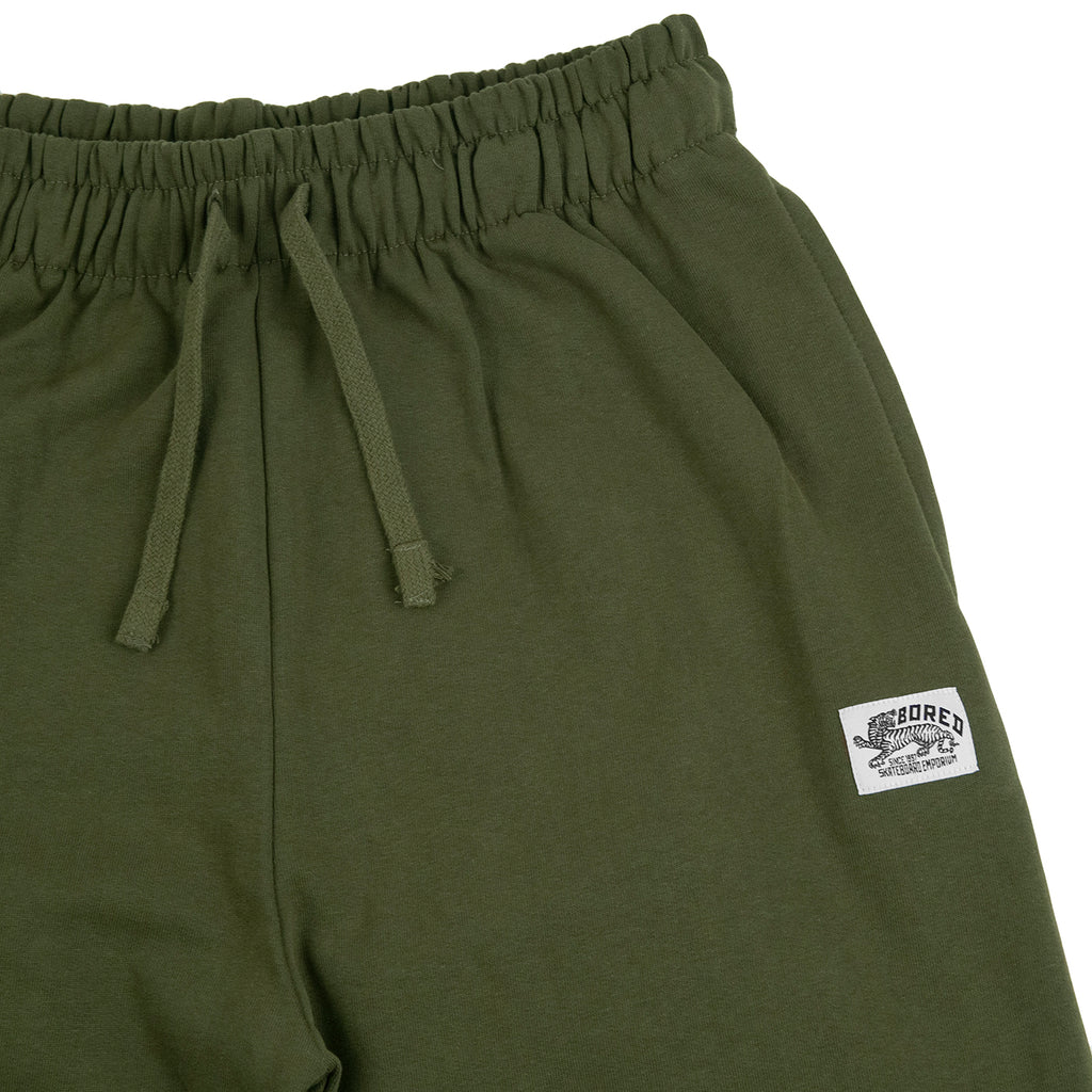 Bored of Southsea Daily Use Jogger Pant Olive - Branding