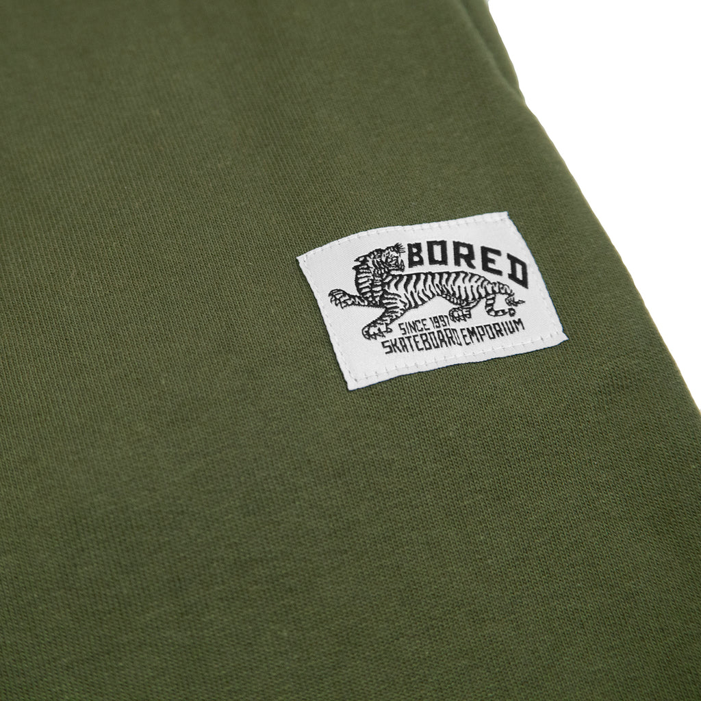 Bored of Southsea Daily Use Jogger Pant Olive - Label
