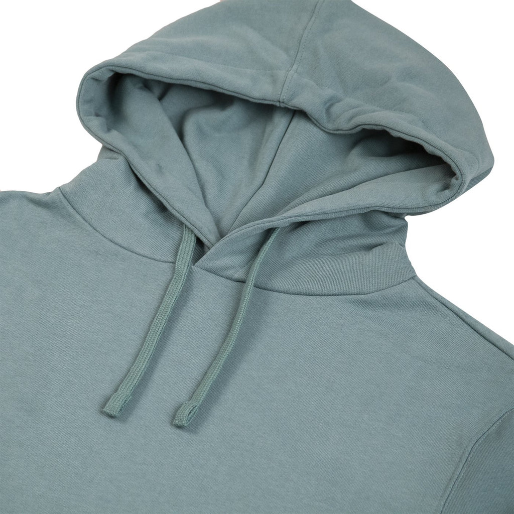 Bored of Southsea Daily Use Pullover Hoodie in Tile Blue - Detail