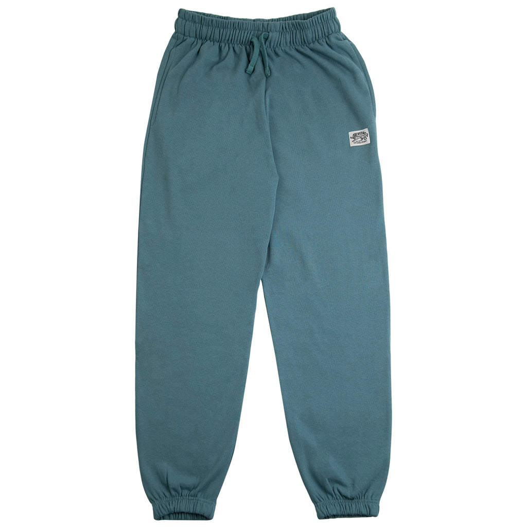 Bored of Southsea Daily Use Jogger Pant in Tile Blue - Open