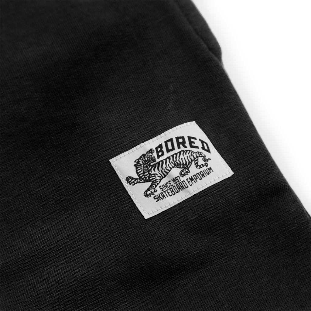 Bored of Southsea Daily Use Jogger Pant in Black - Detail