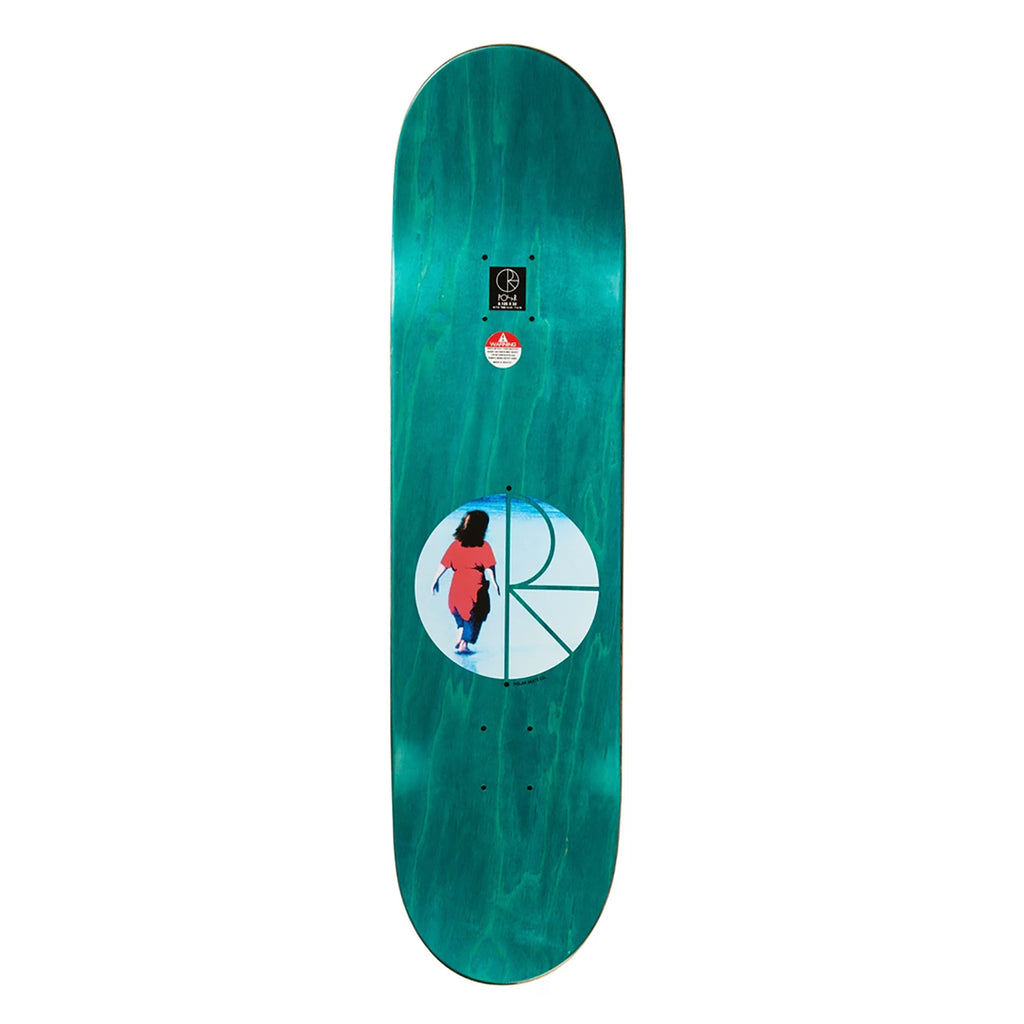 "Polar Skate Co Dane Brady Hannah Skateboard Deck in 8.38"" - Top"
