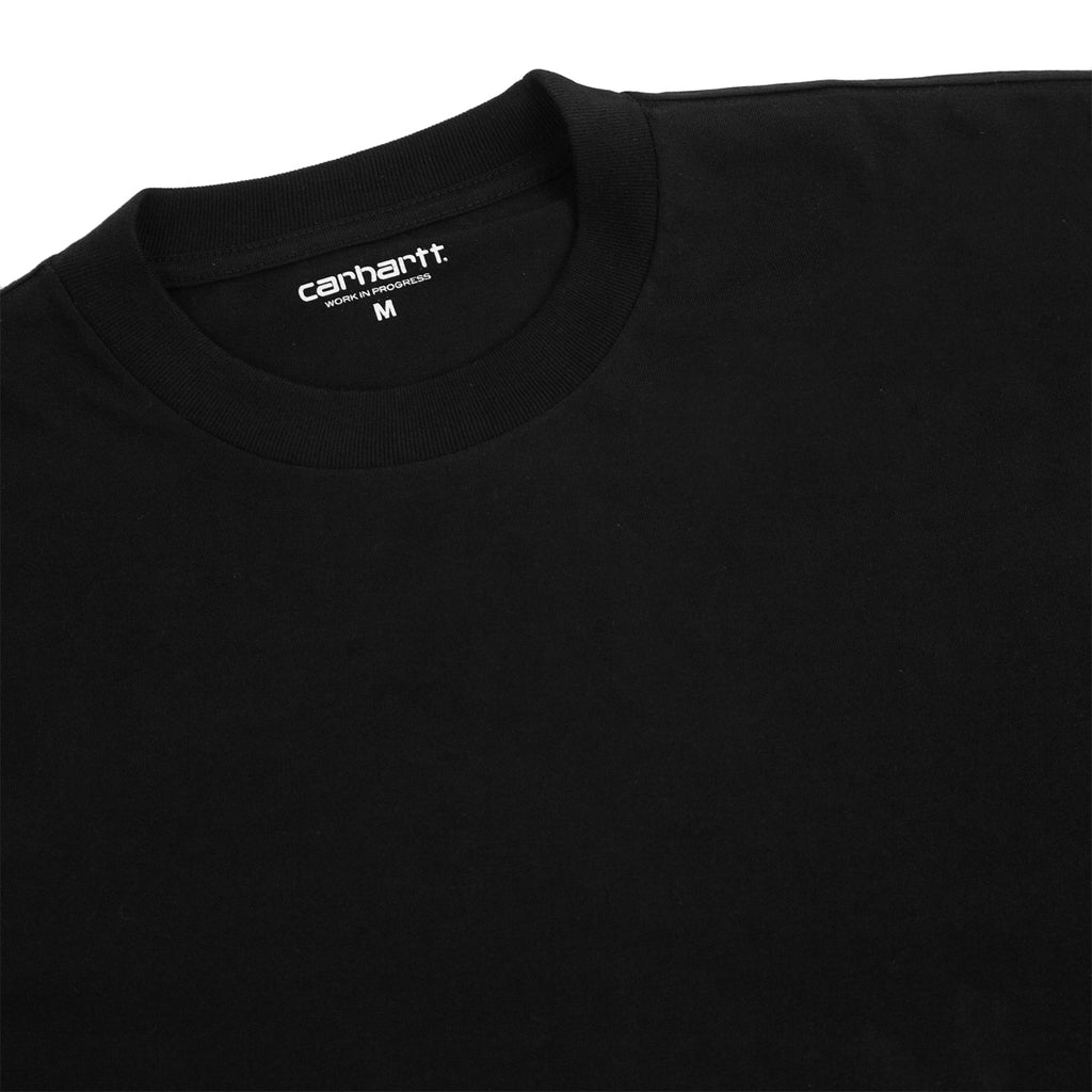 Carhartt WIP L/S Deep Space T Shirt in Black - Detail