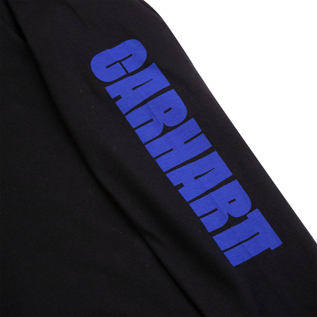 Carhartt WIP L/S Deep Space T Shirt in Black - Arm Print