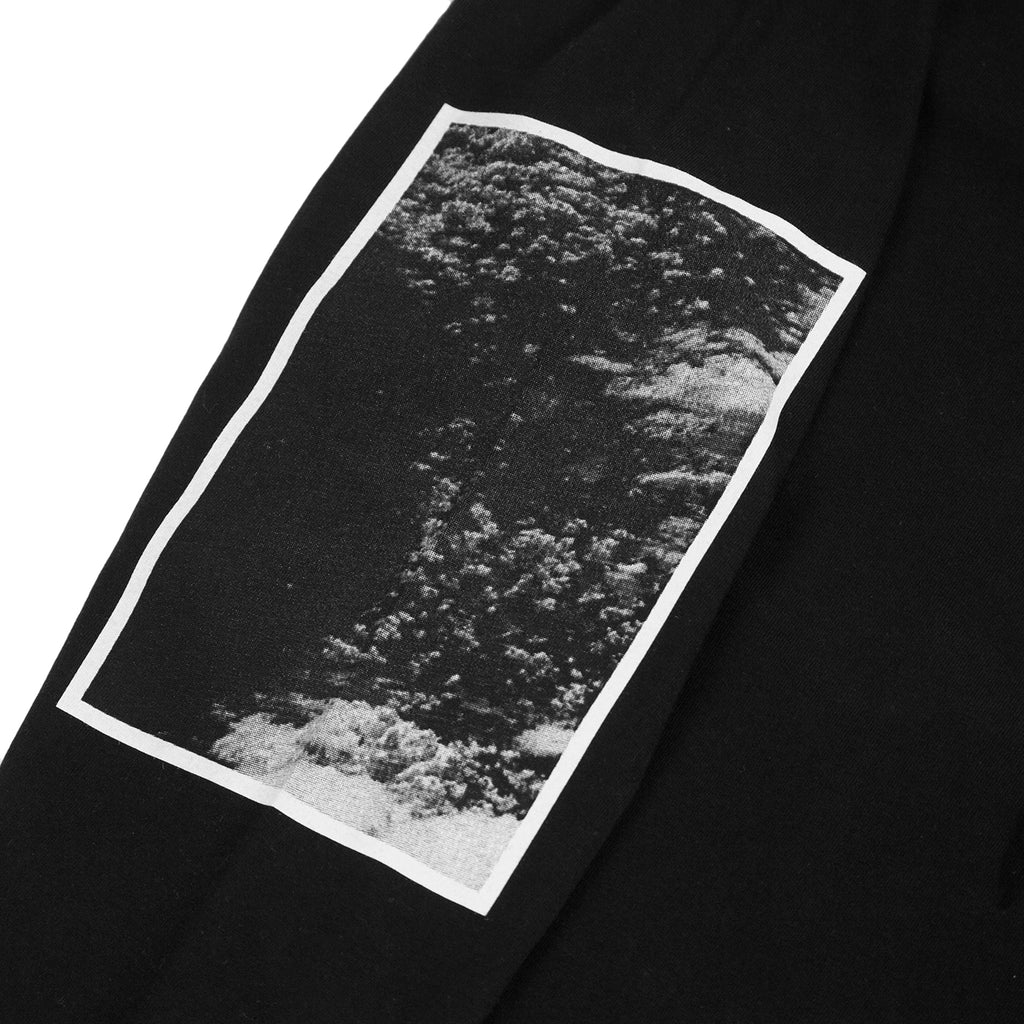 Carhartt WIP L/S Deep Space T Shirt in Black - Arm Print 2