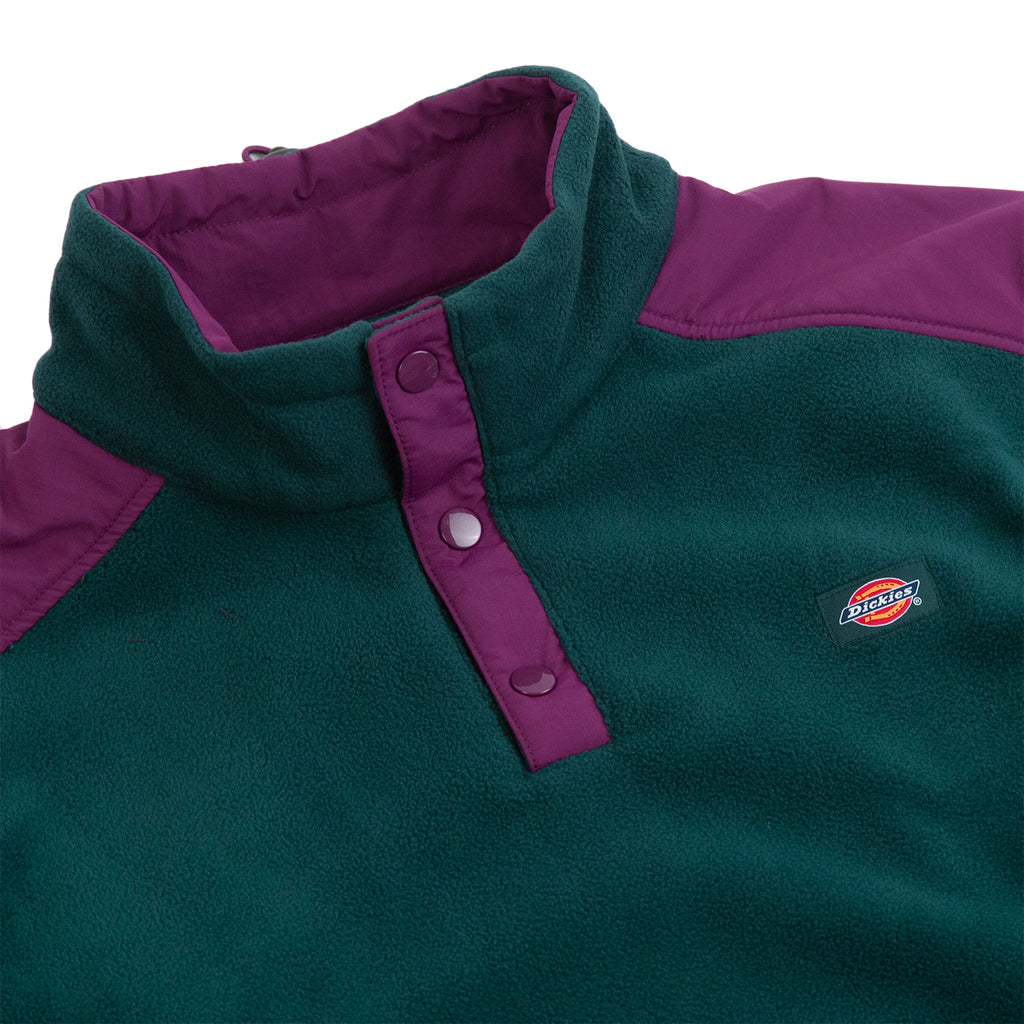 Dickies Denniston Fleece in Forest - Detail