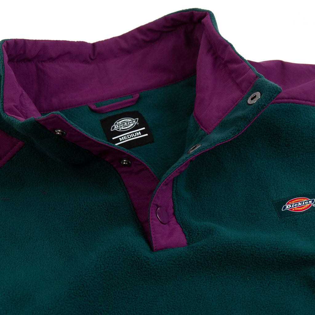Dickies Denniston Fleece in Forest - Open