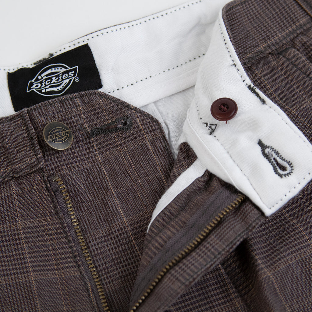 Dickies Artemus Trouser in Dark Brown - Open 2
