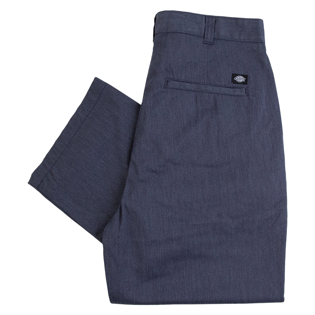 Dickies Clarkston Pleated Pants Blue - Back