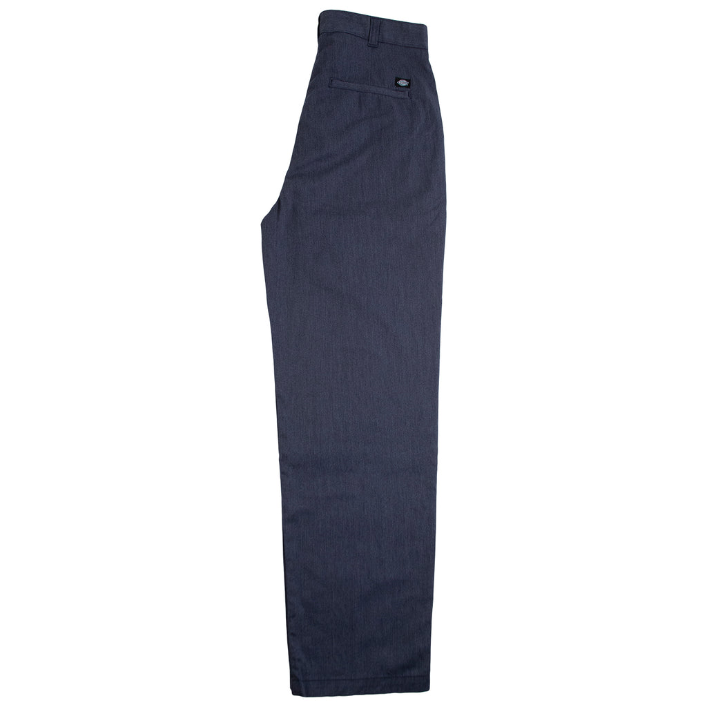 Dickies Clarkston Pleated Pants Blue - Leg