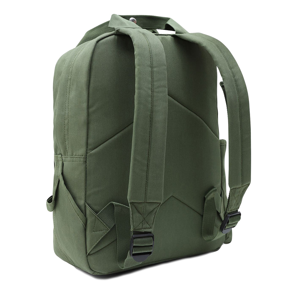 Dickies Lisbon Backpack in Olive Green - Back