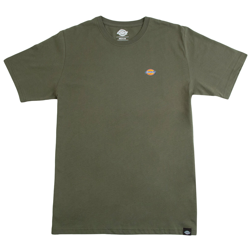 Dickies Stockdale T Shirt Dark Olive - Front