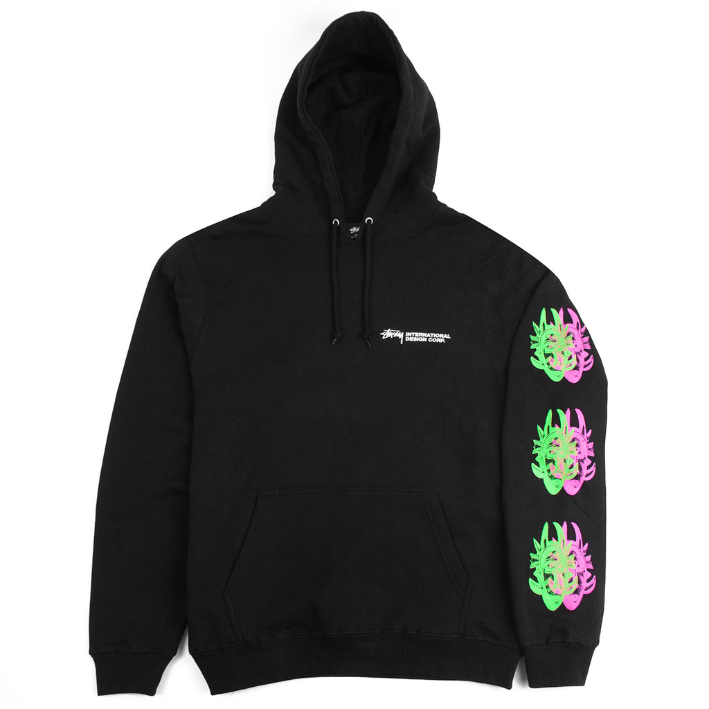 Stussy Double Mask Hoodie in Black