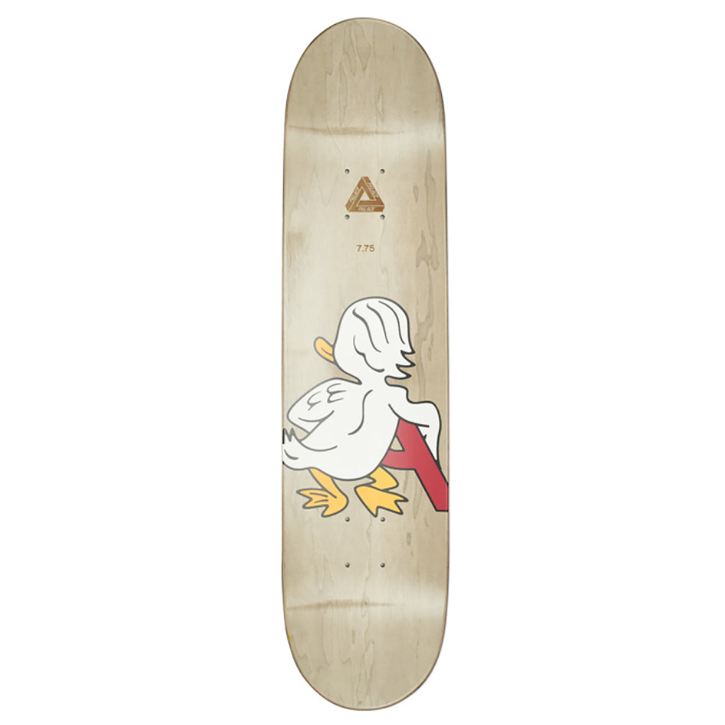 "Palace Duck Skateboard Deck in 7.75"" - Top"
