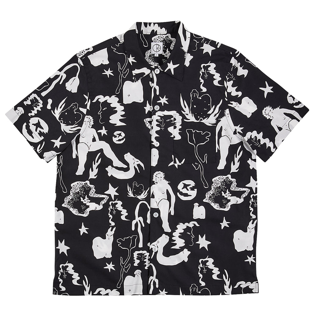Polar Skate Co Eastdream Shirt in Black / White