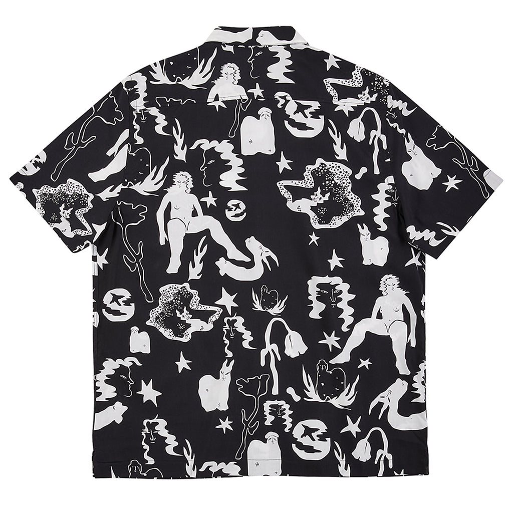 Polar Skate Co Eastdream Shirt in Black / White - Back