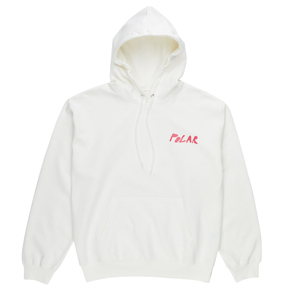 Polar Skate Co Elvira Hoodie in Cloud White - Front
