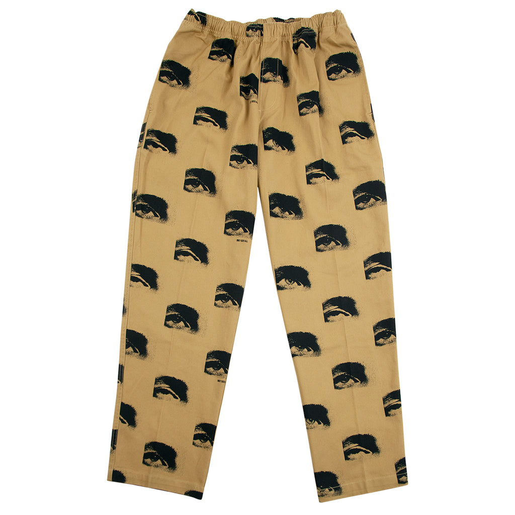 Obey Clothing Easy Big Boy Printed Pant in Almond Multi - Open