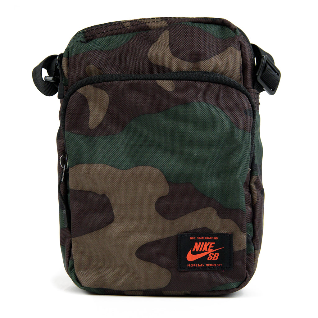 Nike SB Heritage Waistpack in Iguana / Black / Team Orange