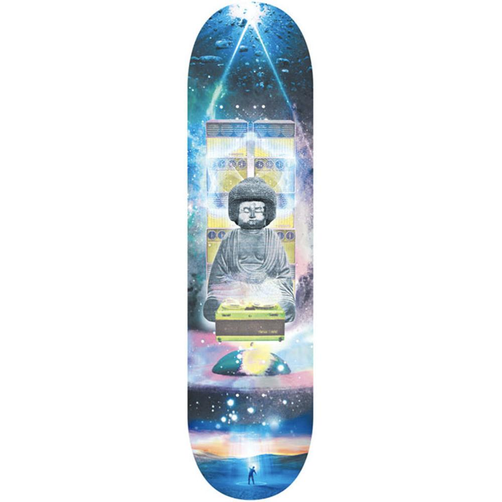 "Evisen DJ Afro Buddha Skateboard Deck 8.38"" - Bottom"