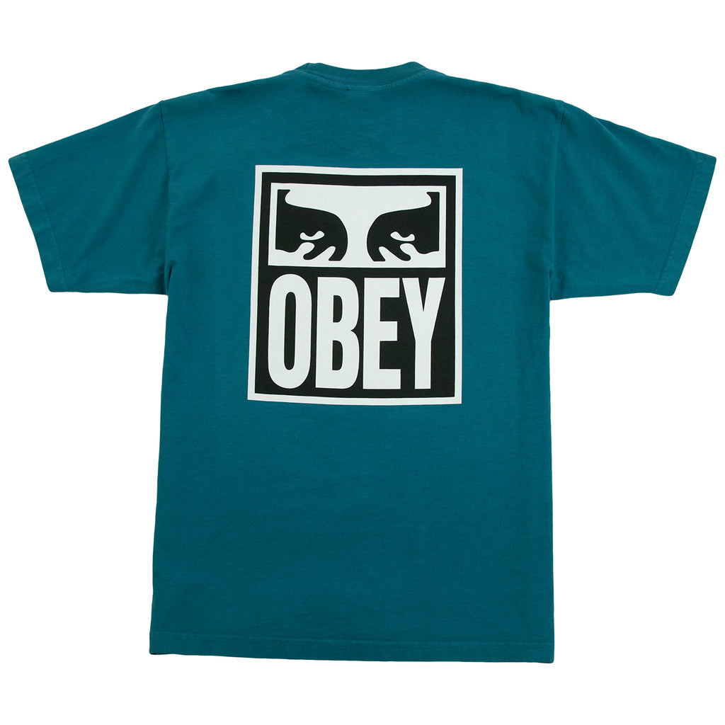 Obey Clothing Eyes Icon 2 T Shirt in Eucalyptus