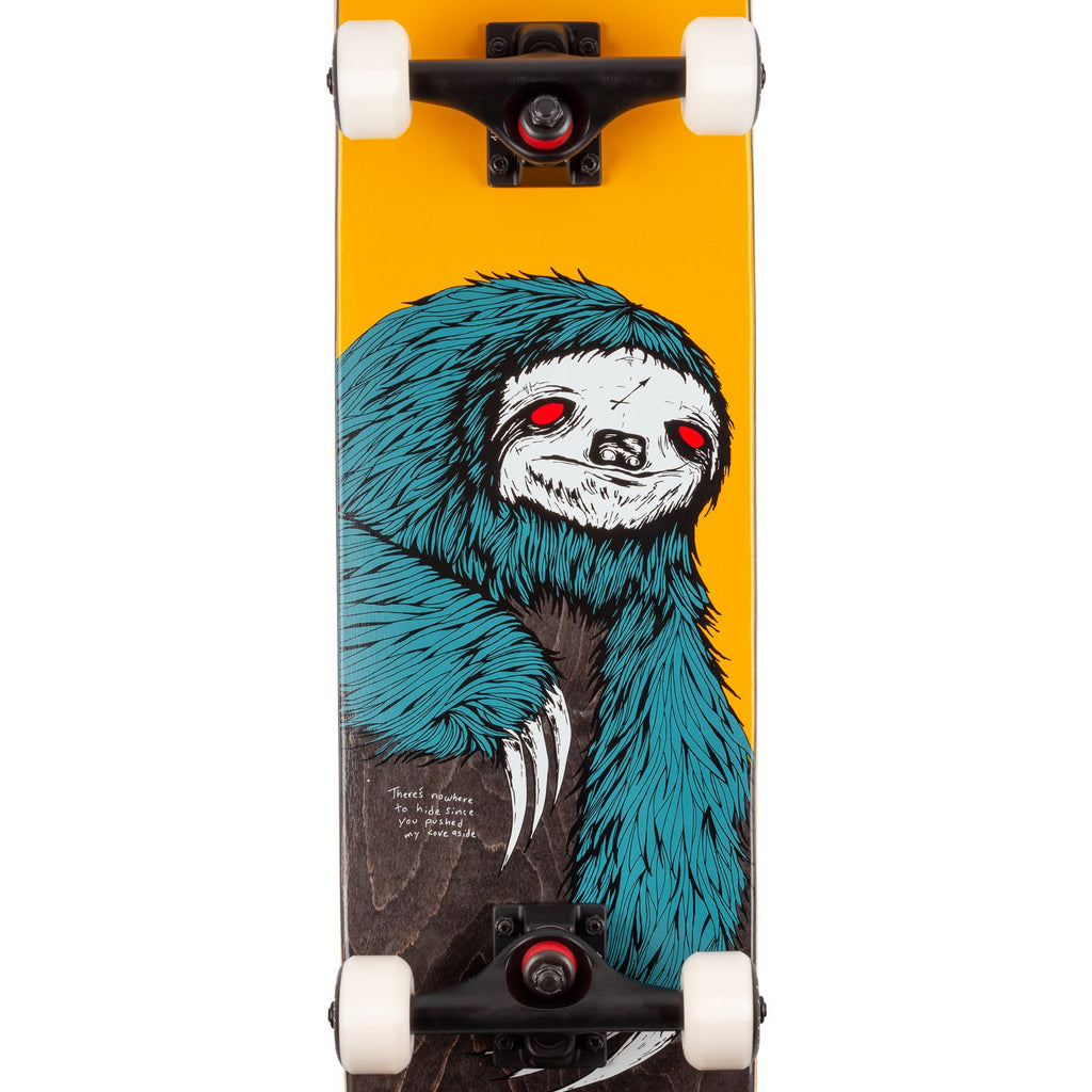 "Welcome Skateboards Sloth Complete Skateboard in 7.75"" - Detail"