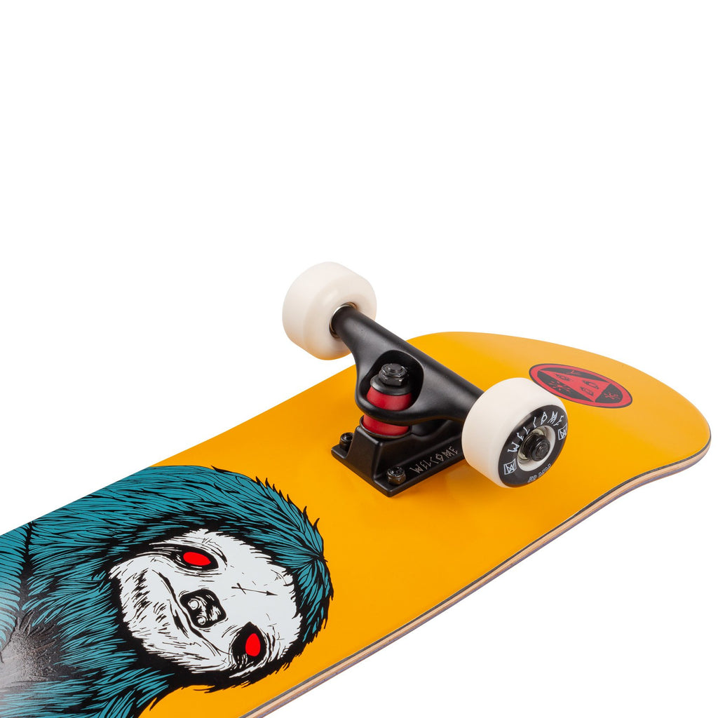 "Welcome Skateboards Sloth Complete Skateboard in 7.75"" - Truck"