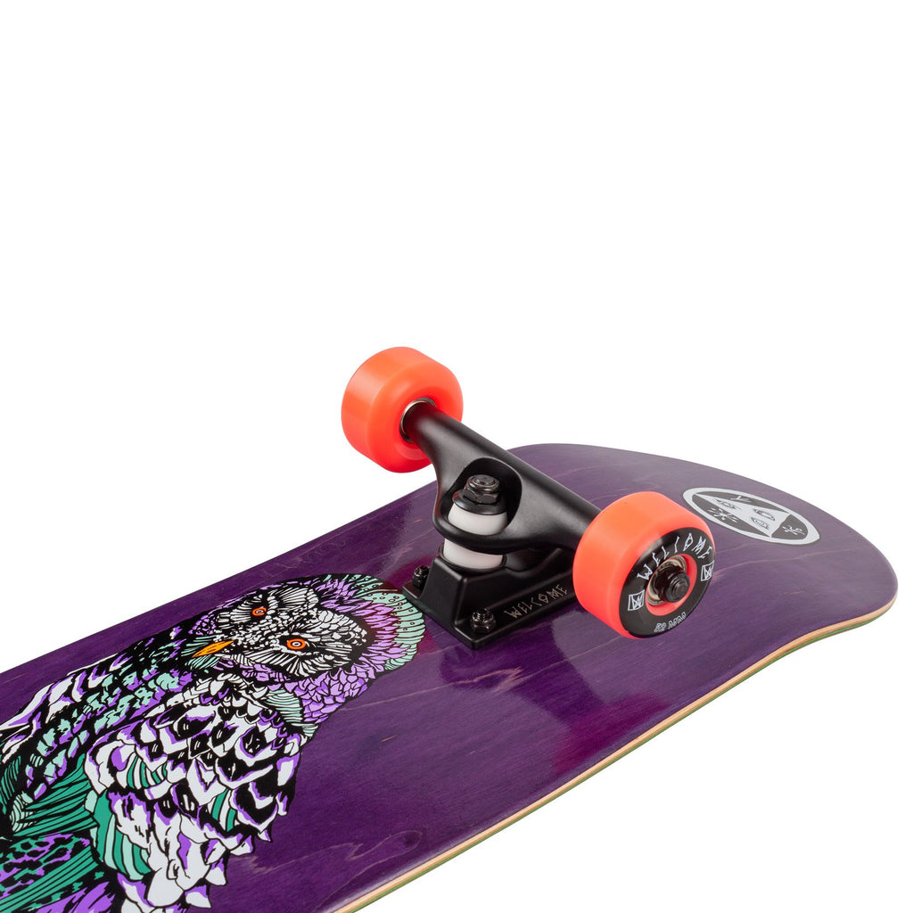 "Welcome Skateboards Hooter Shooter Complete Skateboard in 8"" - Detail"