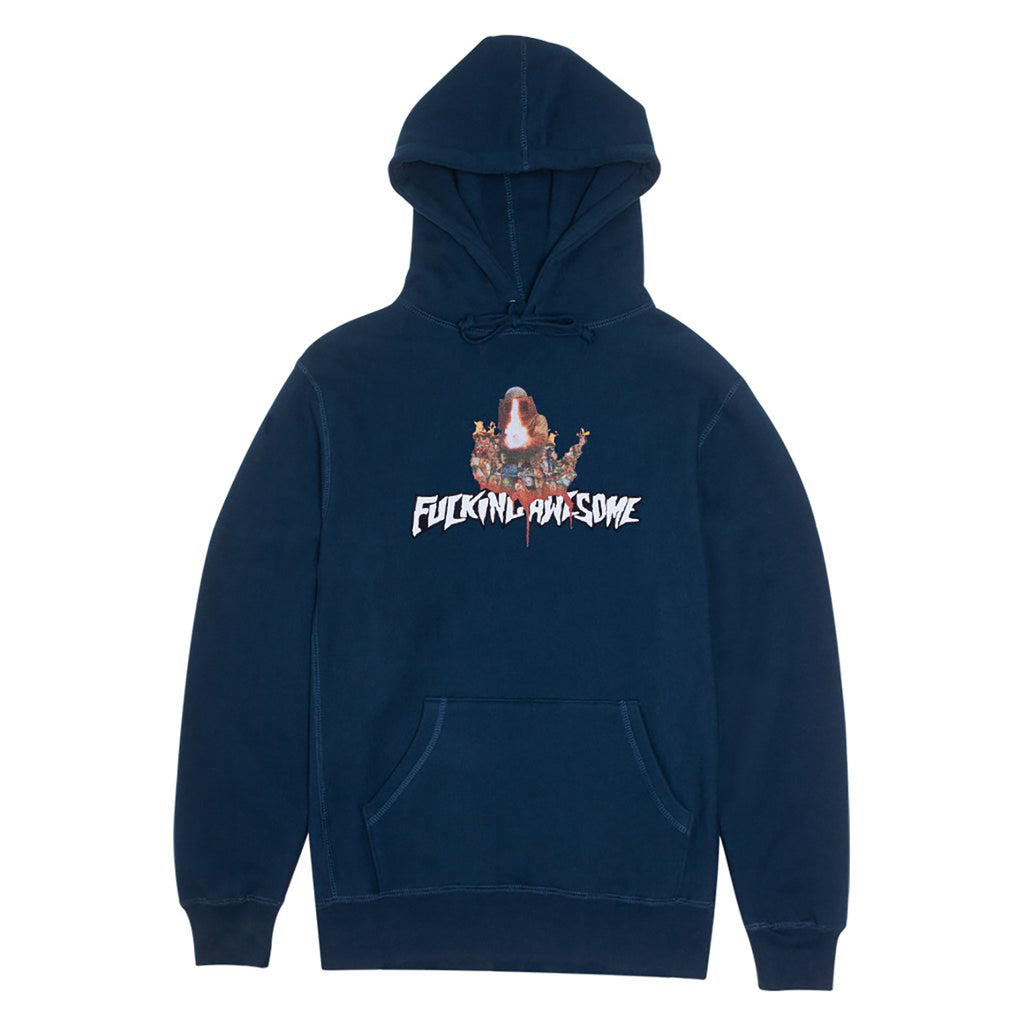 Fucking Awesome Nightmare Hoodie in Navy