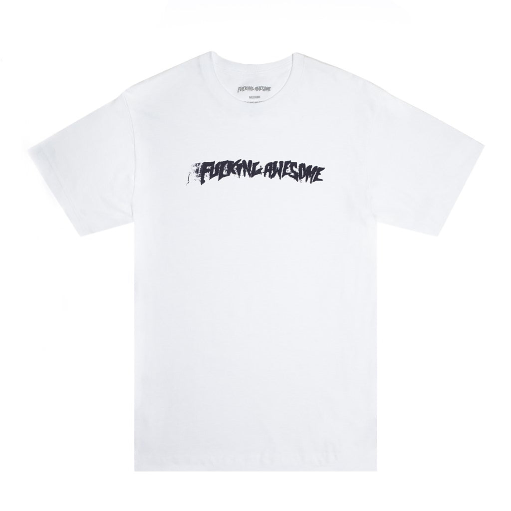 Fucking Awesome Stamp T Shirt in White