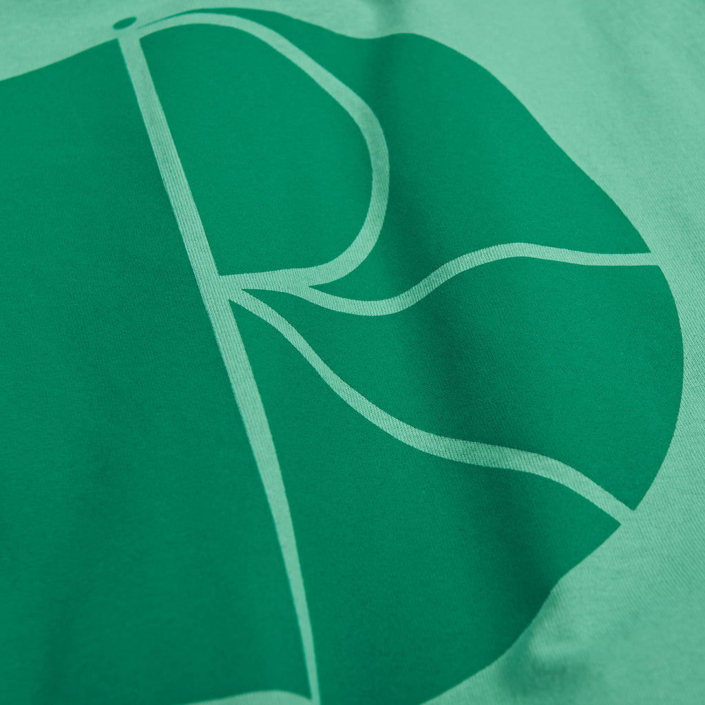 Polar Skate Co Fill Logo T Shirt in Peppermint / Dark Green - Back Print