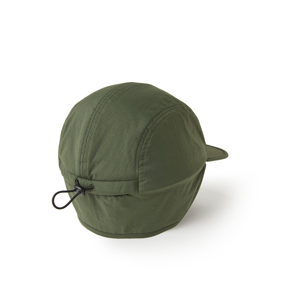 Polar Skate Co Flap Cap - Army Green