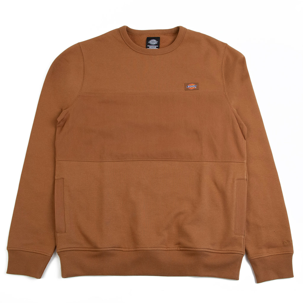 Dickies Fairview Sweatshirt in Brown Duck