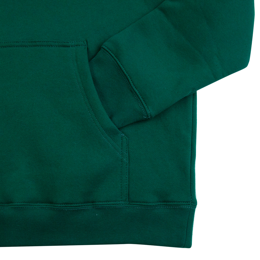 Skateboard Cafe Flower Bed Hoodie in Forest Green - Cuff 2