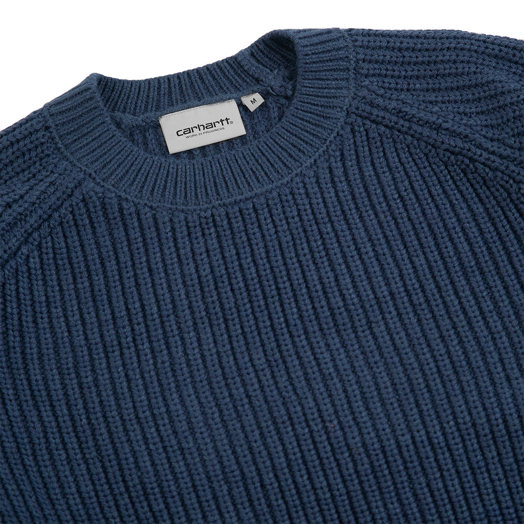 Carhartt WIP Forth Sweater in Admiral - Detail