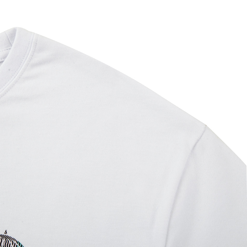Helas Good Dose T Shirt in White - Detail