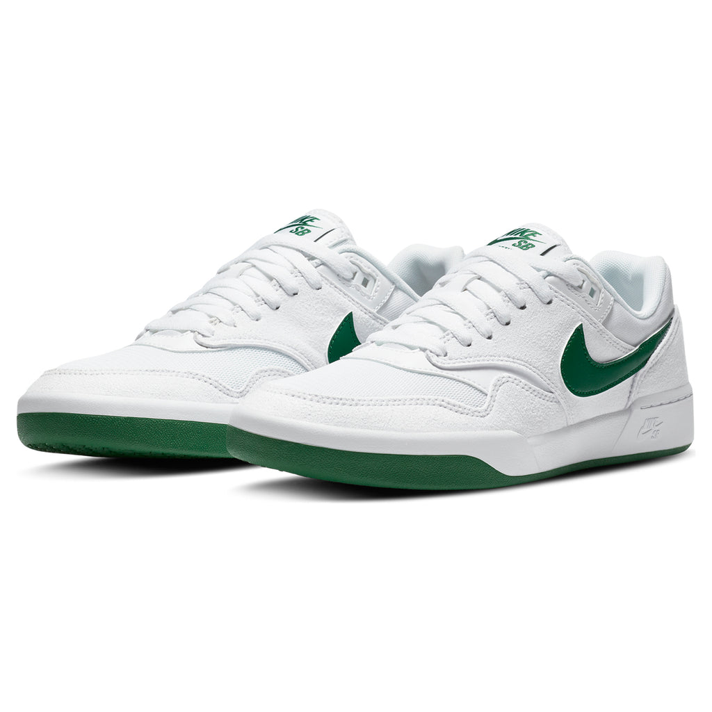 Nike SB GTS Return Premium Shoes in White / Pine Green - White - Pair