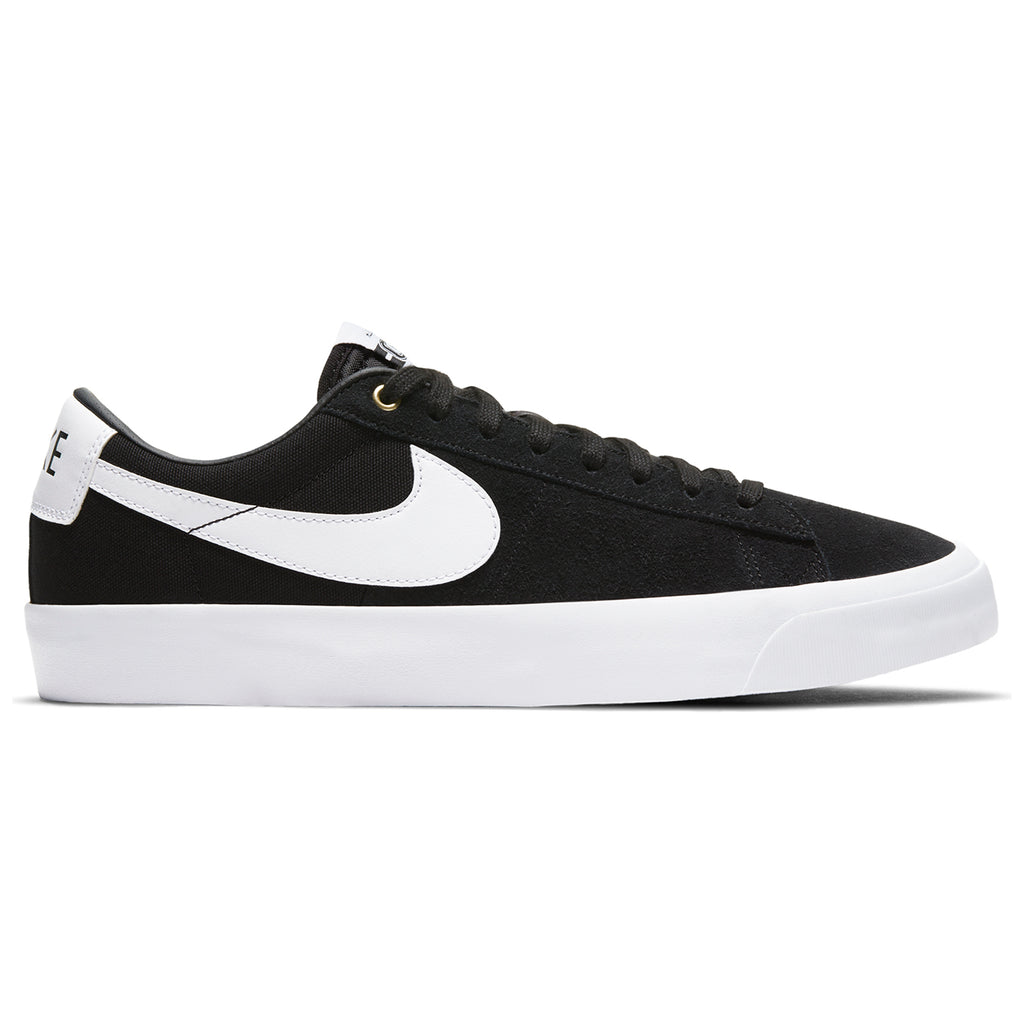 Nike SB Zoom Blazer Low Pro GT Shoes in Black / White