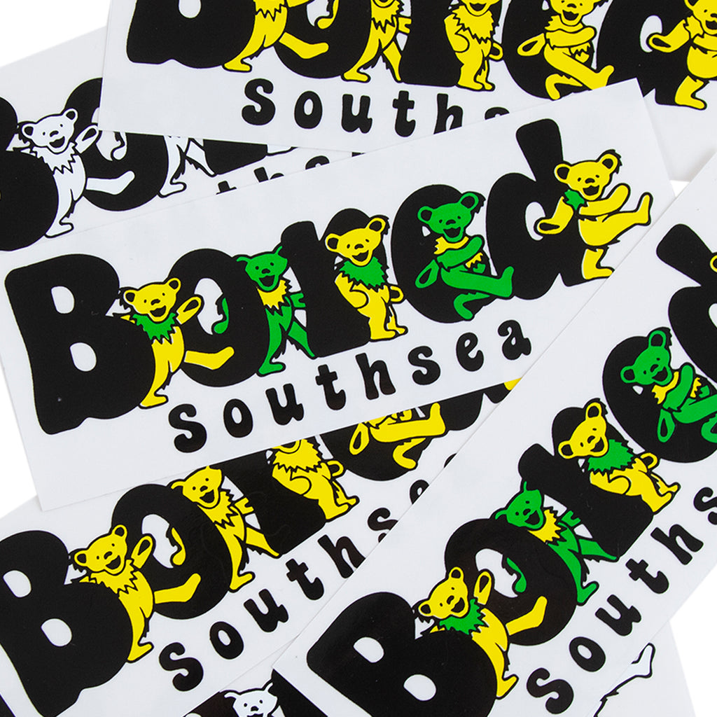 Bored of Southsea Bored Bear Sticker Pack - Togetehr