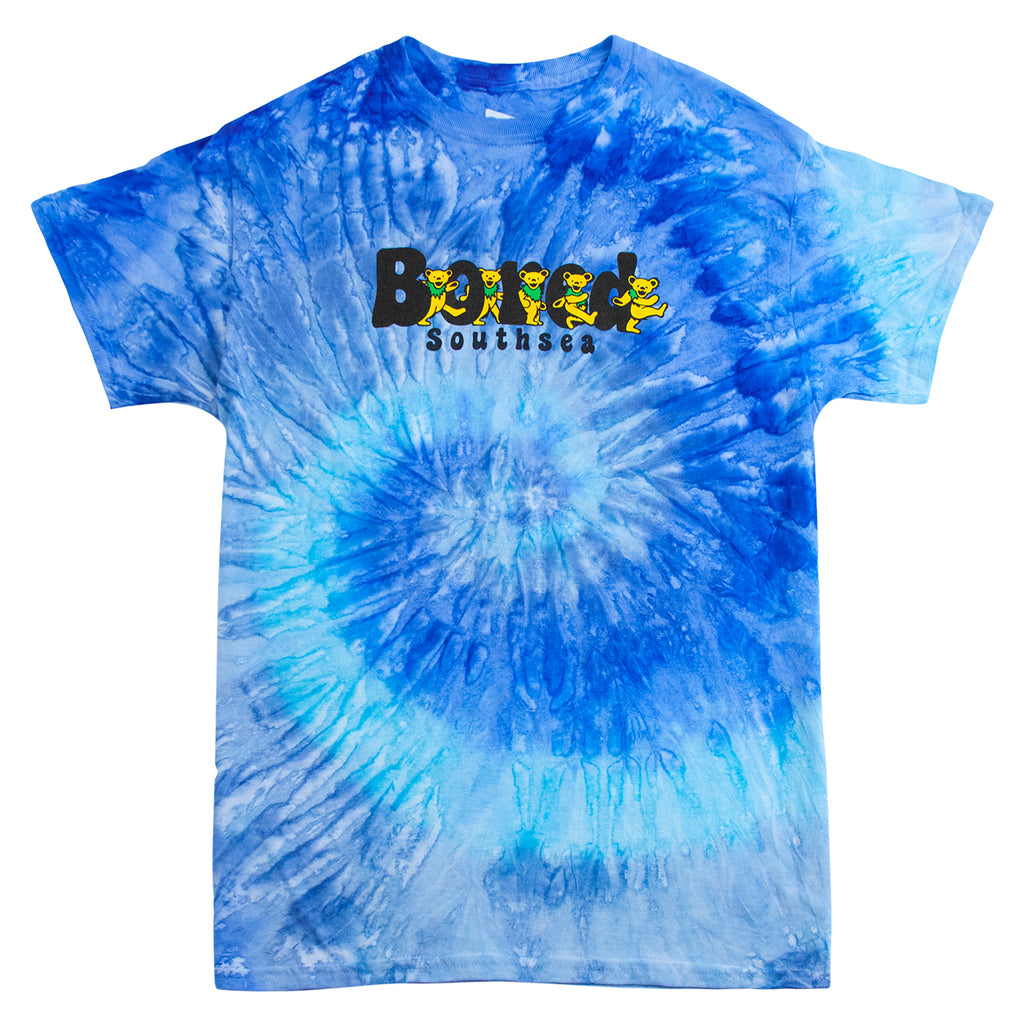 Bored of Southsea Bored Bears T Shirt in Tie Dye