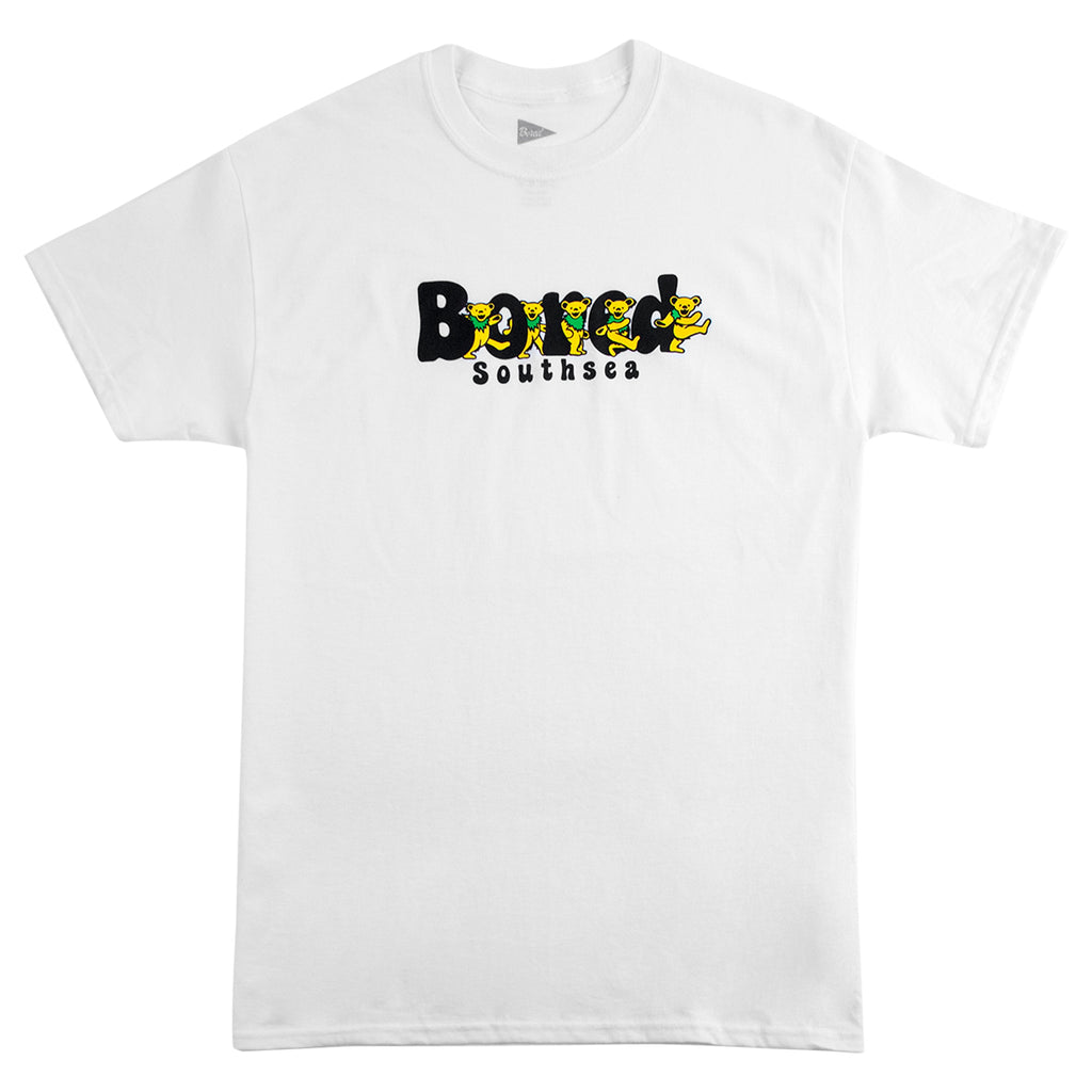 Bored of Southsea Bored Bears T Shirt in White