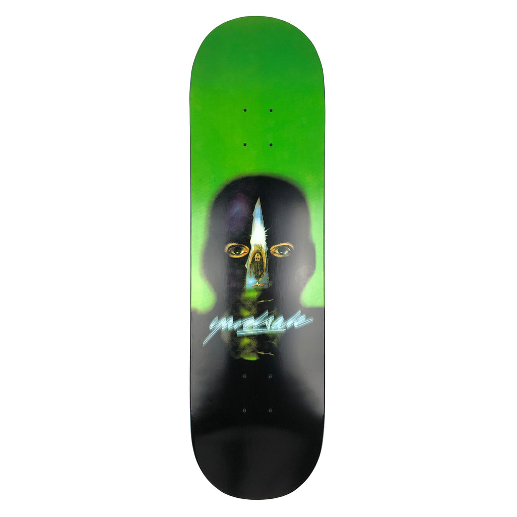 "Yardsale Gnar Man Green Skateboard Deck 8.5"" - Bottom"